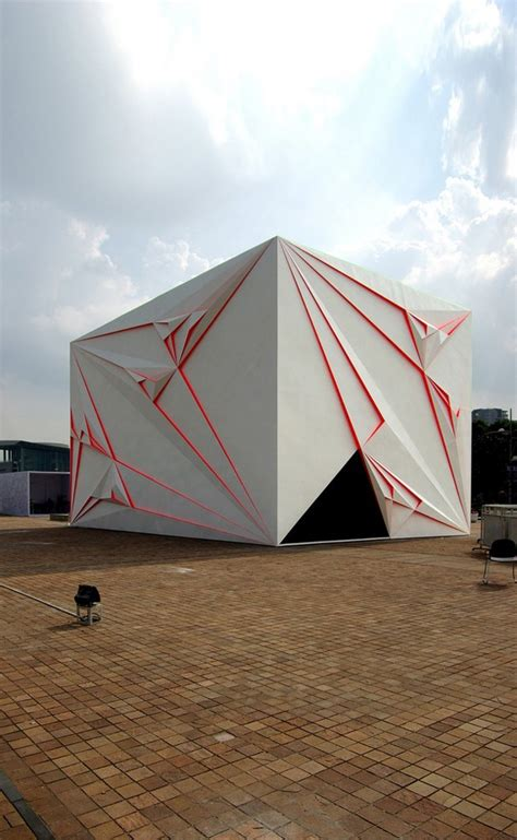 Architecture Origami - 15 spectacular buildings where origami meets architecture