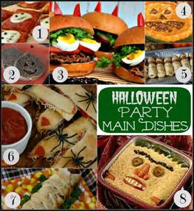 Best Potluck Main Dish Recipes - halloween party food pocket change gourmet