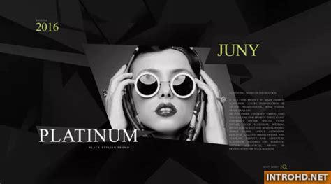 videohive platinum fashion promo