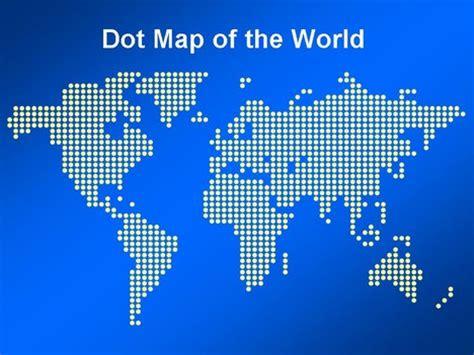 world dot map dot map of the world template