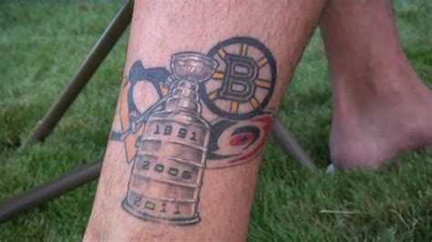 tattoos around the nhl the pink puck