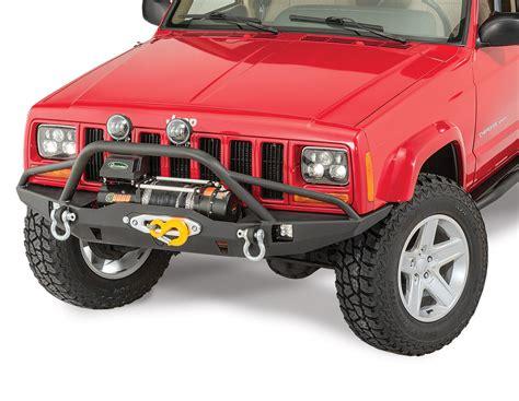 Prerunner Jeep Jcr Offroad Vanguard Front Winch Bumper With Prerunner For