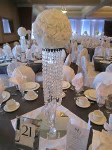 bling centerpieces wedding reception white sparkle wedding bling centerpieces with white