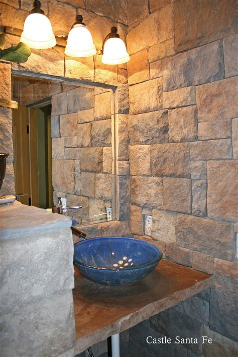 bathroom stone create a mood in the bathroom with stone veneers