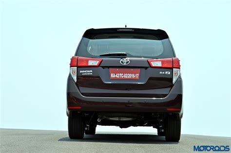 Www New Toyota Innova New Toyota Innova Crysta Review 2 8 At And 2 4 Mt