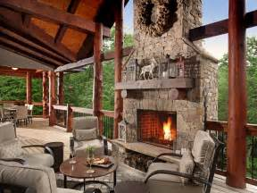 home design story rustic stove rustic deck with outdoor fireplace wrap around porch