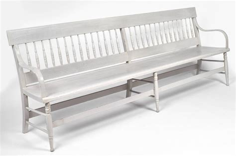 long benches for sale american federal antique long wooden bench for sale at 1stdibs