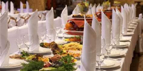 dinner caterer food article for you