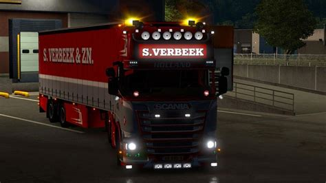 mod game ets 1 ets2 scania r440 streamline s verbeek verbeek trailer v1