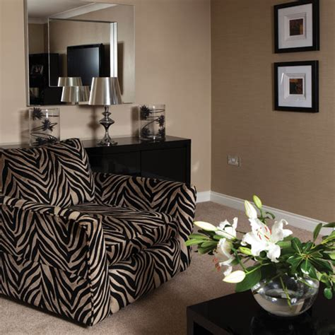 animal print living room bold zebra print living room living room ideal home