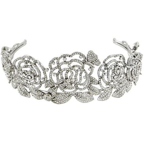 rose tiara carolee lux rose tiara