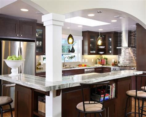 Open Kitchen With Columns by Kitchen Columns Home Design Ideas Pictures Remodel And Decor