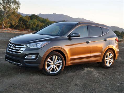 hyundai crossover 2014 autobytel 2013 crossover of the year hyundai santa fe