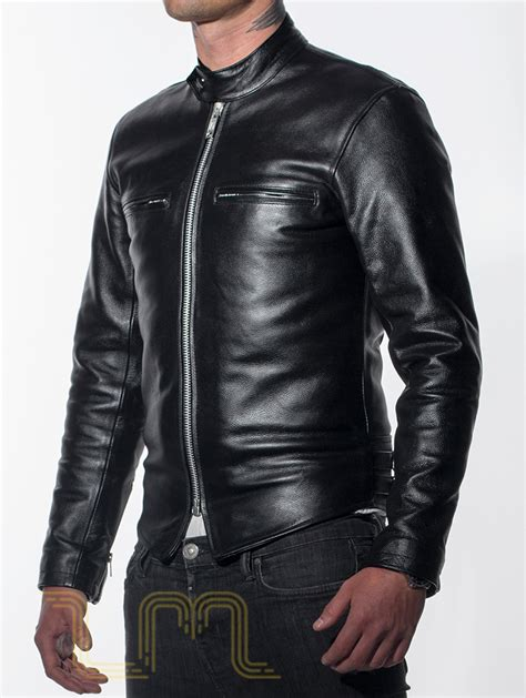 motor leather jacket cafe racer leather jacket review about motors