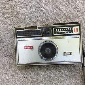 kodak instamatic 100 (front dented) – richard's collectables