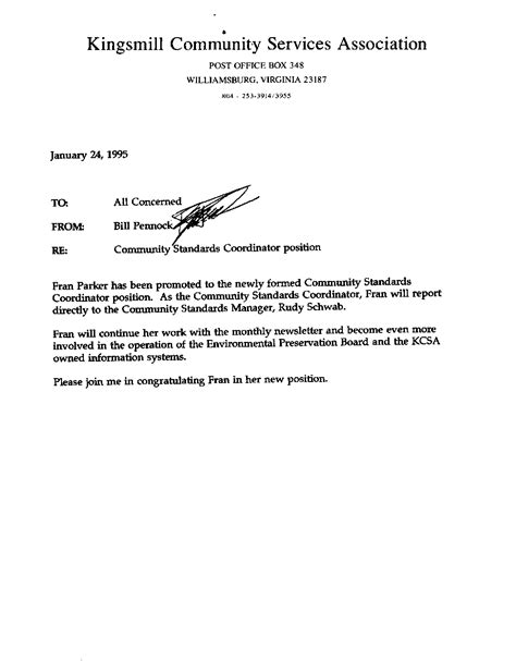 Promotion Letter For Government Employee Fran S Computer Services Testimonials