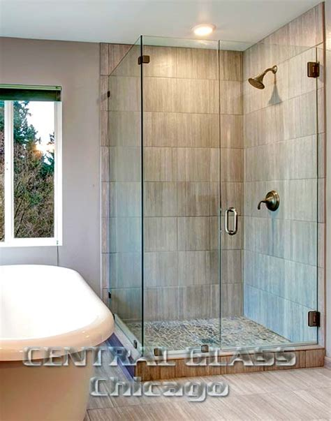 Glass Shower Doors Chicago Frameless Glass Shower Enclosures In Chicago Naperville And Downers Grove Illinois