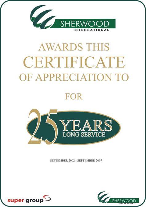 templates for long service awards long service award quotes quotesgram