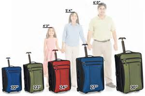 luggage size guide luggage pros