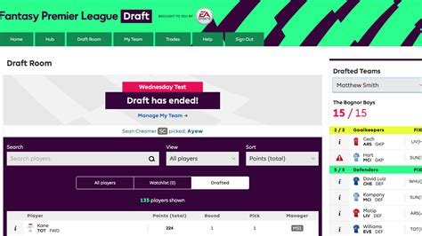 epl draft fpl draft what you need to know