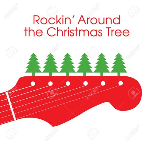 20 rockin around the christmas tree clip art