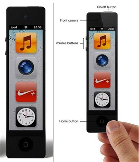 un concept d'ipod nano touch tout en hauteur | iphoneaddict.fr