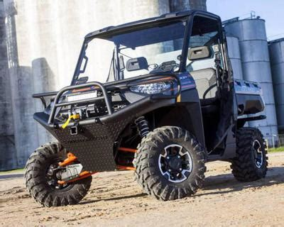 utv headquarters tough country utv front bumper, polaris