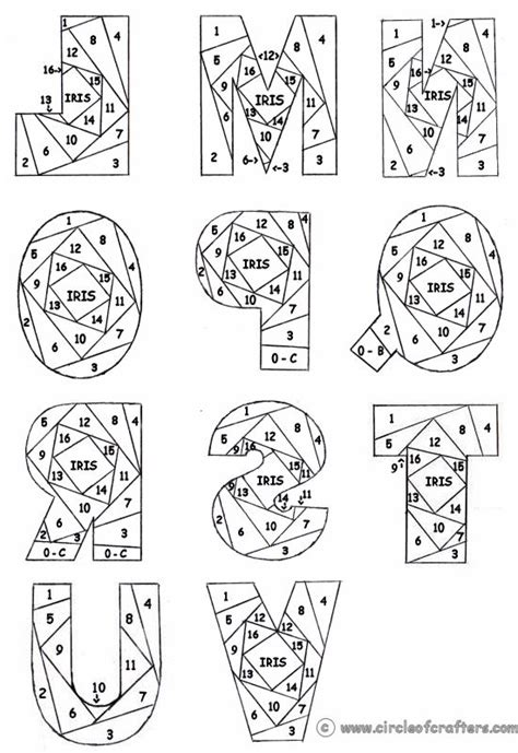 Free Iris Paper Folding Patterns - 25 best ideas about iris folding pattern on
