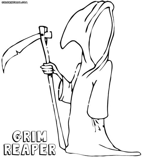 grim reaper coloring pages coloring pages to download