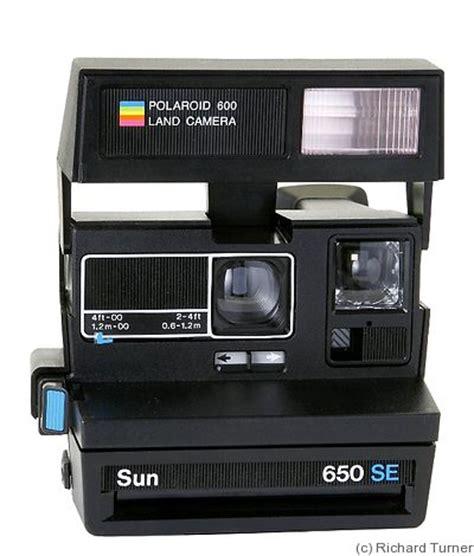 polaroid: sun 650 se price guide: estimate a camera value