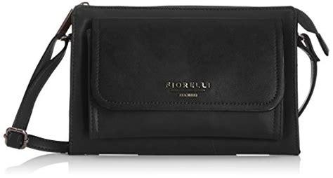 Fiore Tessa Bag by Fiorelli Womens Tessa Cross Bag Fh8035 Black Top
