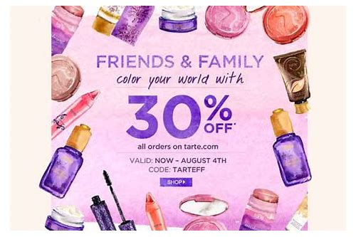 tarte coupon code 2018