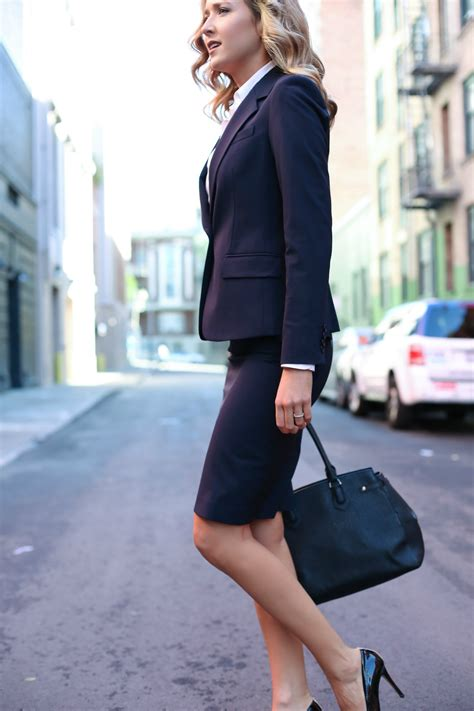 Working S Wardrobe by Pencil Skirt And Blazer For Work Mode