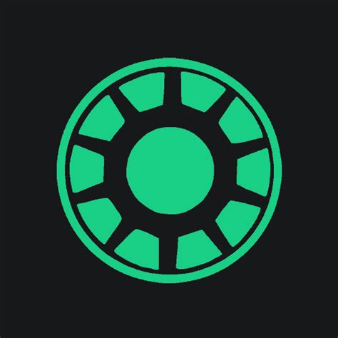 Gw175d Ironman Glow In The arc reactor t shirt glow in the textual tees