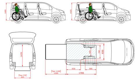 peugeot traveller dimensions peugeot expert combi tripod mobility