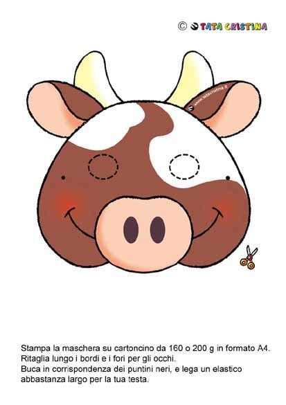 fil a cow mask template cow mask passover crafts