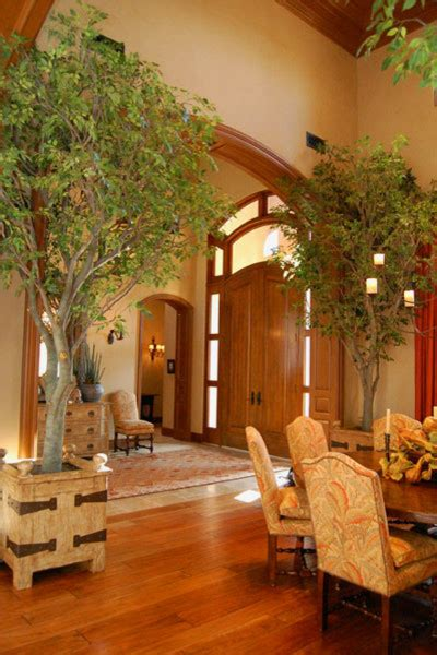 living room trees residential steel art tree installations traditional