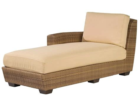 chaise lounge replacement cushions whitecraft saddleback lafacing chaise lounge sectional