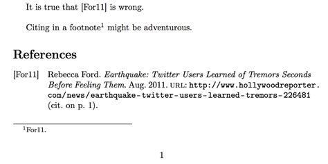footnote format in latex citing biblatex footcite style tex latex stack exchange