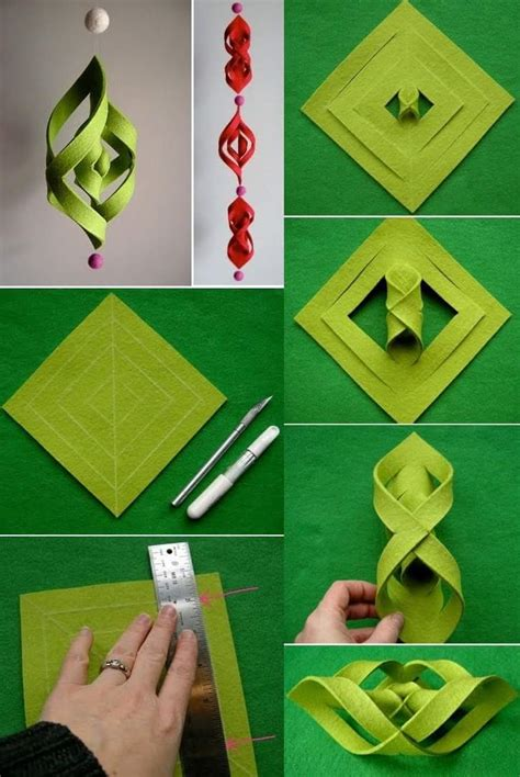 diy hanging ornaments 10 kid friendly tutorials for diy ornaments with paper