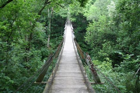 the swinging bridge pin by hunter berry on dream travels pinterest