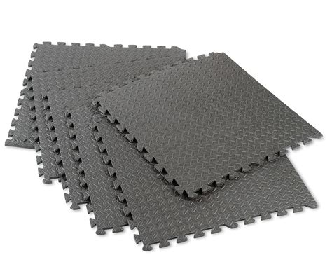 Foam Flooring Mats by Norsk 2 Ft X 2 Ft 6 Pack Foam Flooring With Borders