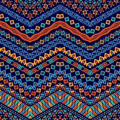 cute ethnic pattern cute pattern with ethnic ornaments vector free download