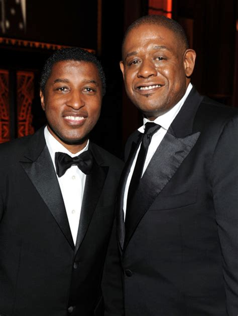 forest whitaker kenn whitaker pictures forest whitaker and kenneth quot babyface quot edmonds photos