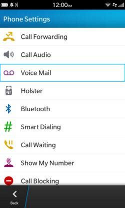 Reset Visual Voicemail Password Blackberry | how to set your voice mail password while using a