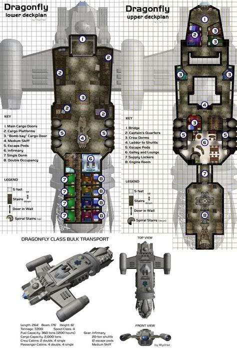 spaceship floor plans user posted image firefly and serenity space cowboy
