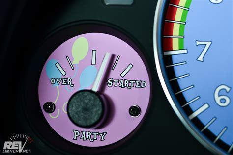 my pony booster seat my miata gauges are magic revlimiter net