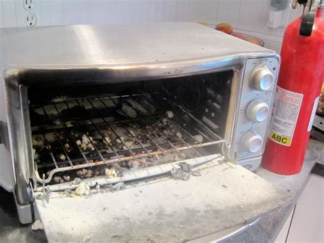 Toaster Fire Children Should Not Use Toaster Ovens The Mama Bird Diaries