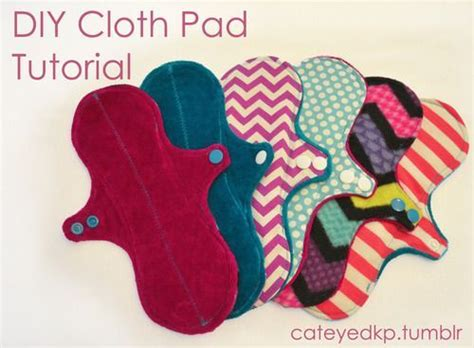 Diy Menstrual Pads by Diy Cloth Pad Tutorial Sew Crochet