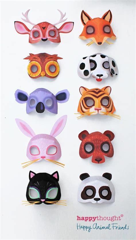 new year animal masks templates de 330 b 228 sta barnpyssel bilderna p 229 armband